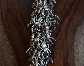 """the """"silver spider"""" keychain"""