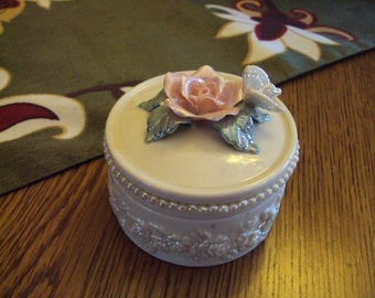Vintage Lenox Jewelry/Trinket Box