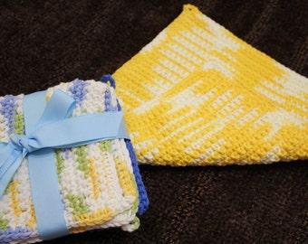 Crochet Dishcloth \ Wash cloth