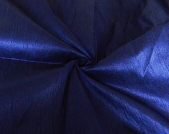 Silk Fabric, Dupioni Silk Fabric, Blend Silk Fabric, Art Silk Fabric, Blue Dupioni Silk Fabric