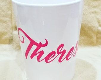 12 oz  white ceramic custom mugs