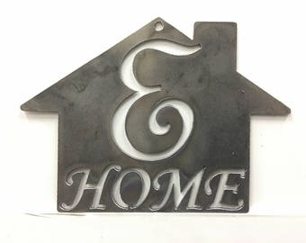 E - Home Plaque
