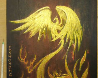 Painting : A Rising Pheonix