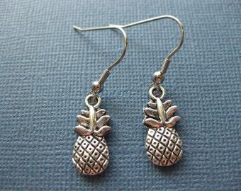 Ananas boucles d'oreilles - Boucles d'oreilles - Boucles d'oreilles fruits - ananas bijoux - bijoux--e 109 de fruits