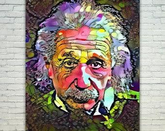 Einstein - Einstein Poster,Einstein  Art,Einstein Print,Einstein Poster,Einstein Merch,Einstein Wall Art,Einstein Fan Art,Modern Abstract Po
