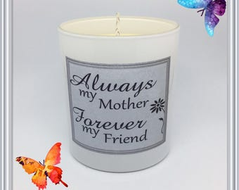 Mum & Friend Scented Soy Candle
