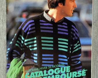 Magazine knitted Penguin 108 - men (Vintage)