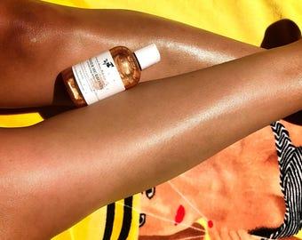 Shimmer Me Bronze - Bronze Shimmer Body Oil, Shimmer Body Oil, Moisturizing Body Oil, Bronze Body Oil - 4oz