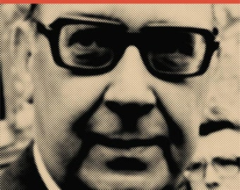 Philip Larkin Quintet Jazz Album Cover Poster Great Writer Literary Print