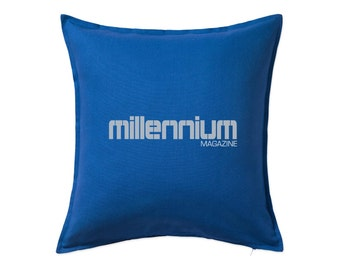 The Girl With The Dragon Tattoo: Millénaire Magazine coussin