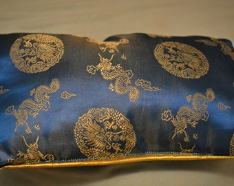 Vintage Asian accent pillow