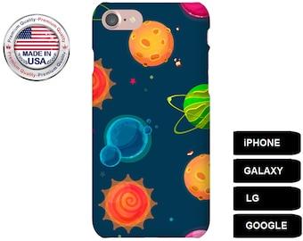 Planet Phone Case, Phone Case Planet, Planet iPhone Case, Planet Galaxy Case, iPhone SE Case, Galaxy S5 Case, Galaxy A3 Case, iPhone 5 Case