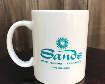 Vintage Las Vegas Sands Casino Coffee Mug