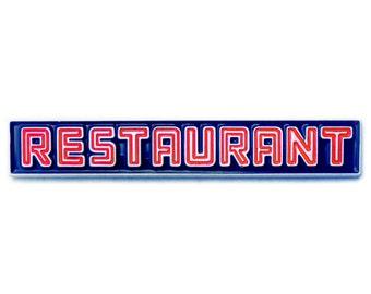 Restaurant - Enamel Pin