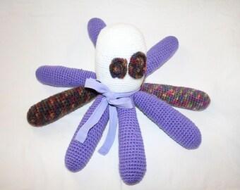 Amigurumi Stuffed Octopus