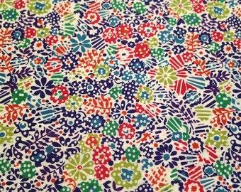 liberty of london fabric - fat quarter - clarricoates -