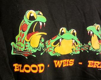 Wacky Budweiser Tshirt/Blood Weis Errr Frogs Tshirt