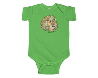Infant Fine Jersey Bodysuit The Fonz Lion Onesie