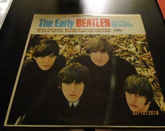 The Beatles  NM- vinyl  - The Early Beatles - Vintage Cover in VG++ Condition
