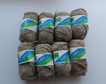 Khaki yarn, BST Como, cotton yarn, yarn lot, cheap yarn, super fine yarn, beige yarn, thick and thin yarn, sock yarn, baby yarn, fingering
