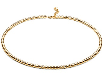 Ball chain • small • gold
