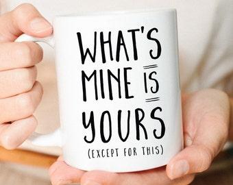 funny mug, Gift for Her, Gift for Him, Wife Mug, husband gift, wife gift, Funny wedding gift, Wedding present, Anniversary Gift, Silly Mug