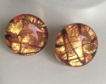 Murano Glass Earrings vintage