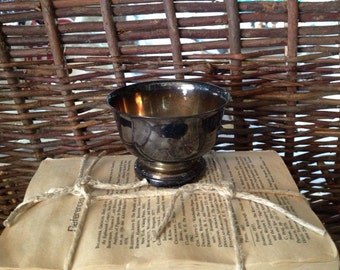 Small Silver Bowl - Greek Engraving