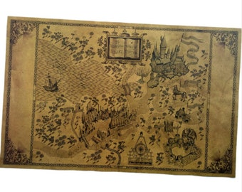 You map is here! MAGIC world map