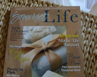 ONSALE Stampington Somerset Life , Volume 2 Issue 1