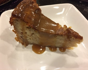 Bread Pudding with Caramel Sauce PDF Recipe