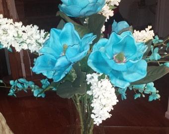 Dried Silk Floral Arrangement