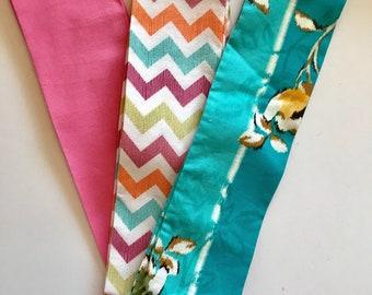 Set of 3 headwraps