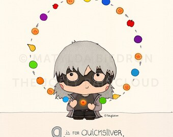 Q is for Quicksilver