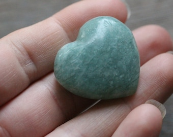 Amazonite Heart Shaped Stone #89162