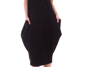 Ladies dress with adjustable length