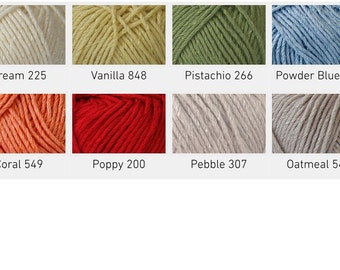 Cygnet Cottony DK yarn, 50g ball various colours available, Double knit yarn.