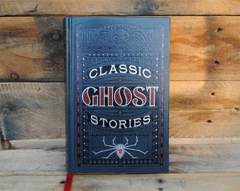 Book Safe - Classic Ghost Stories - Leather Bound Hollow Book Safe