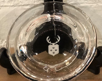 Vintage Coat of Arms Ashtray