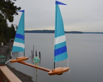 New Endurance Style Sailboat Whirligigs 2018