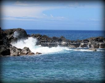Oahu - Hawaii - photograph - Hawaii photo - Hawaii photography - North Shore - Pacific Ocean - Ocean Waves Photo - North Shore surf photo