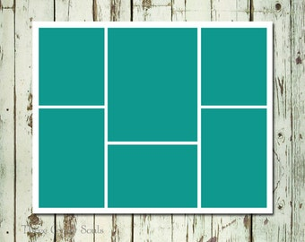 16x20 Storyboard Collage Template Layered PSD Collage Template. Storyboard Template. Photographer Template.