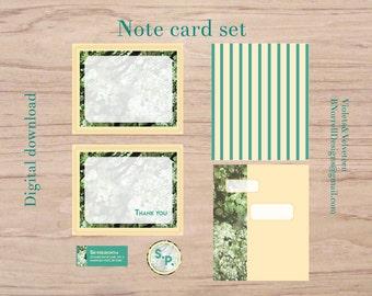 Cottonwood Series Note Card set