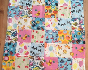 Children's Patchwork Lap Quilt
