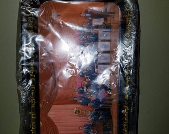 Vintage Mid Century Lawrence Welk Grip-On Snack Tray in Original Packaging Champagne Musicmakers Band Television