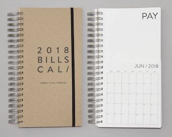 SALE. 2018 Dated Bills Calendar