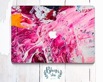 Pink Macbook Air sticker / Macbook decal / Macbook Sticker / Stickers macbook pro / Macbook pro 13 case / Vinyl Decal / Macbook skin / BS029