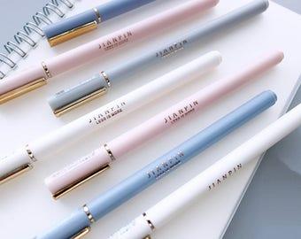 Gel Pens Random Style, Pretty Pens, Cute Stationery, pen, kawaii pens