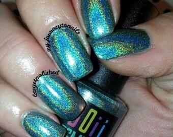 Holographic nail polish, holo nail polish, I See Confidence When I Look In The Mirror
