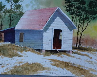 Red Roof Shed